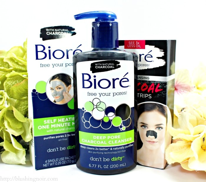 How To Spa Your Face with Biore Charcoal #BioréStripDown