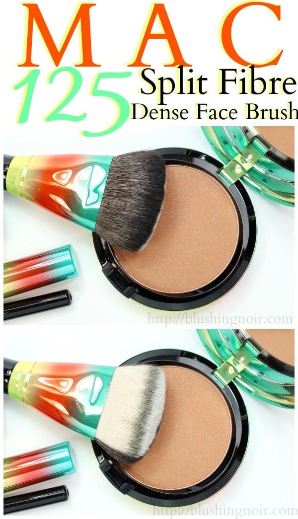 MAC 125 Split Fibre Dense Face Brush