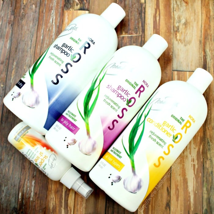 Nora Ross Garlic Shampoo Conditioner Review