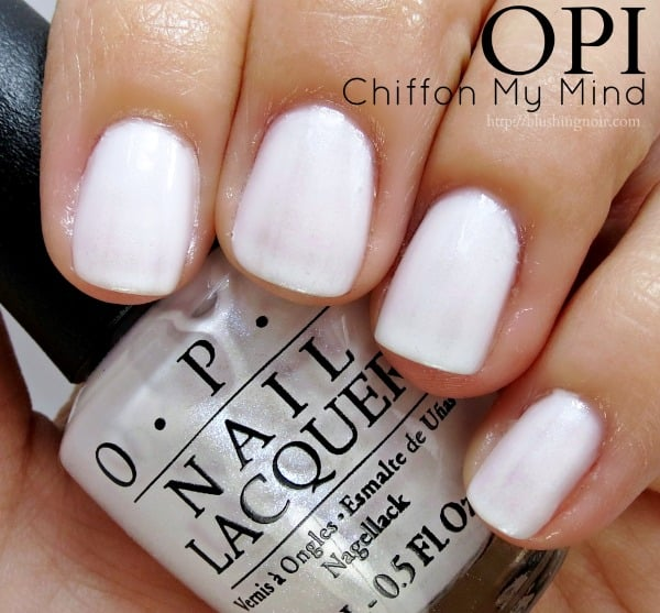 OPI Chiffon My Mind Nail Polish Swatches