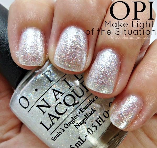OPI Make Light of the Situation Nail Polish Swatches