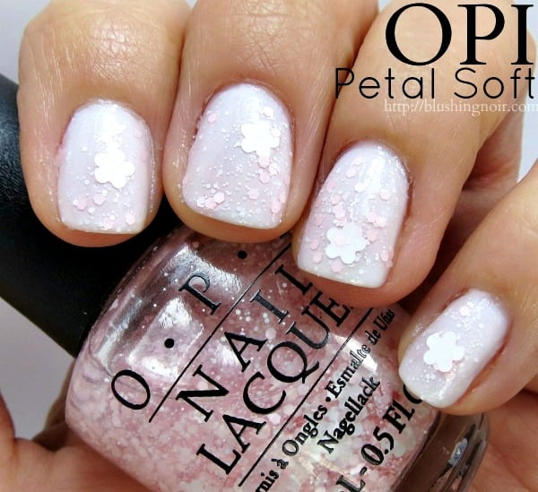 OPI Petal Soft Nail Polish Swatches