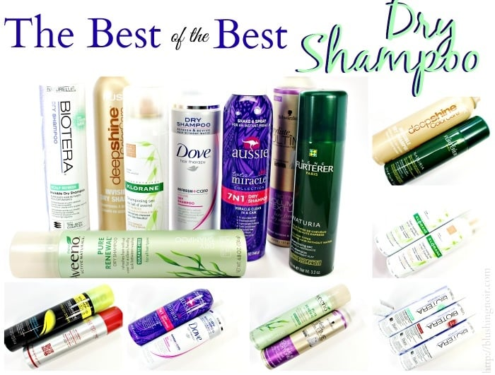 10 Dry Shampoo Brands to Check Out