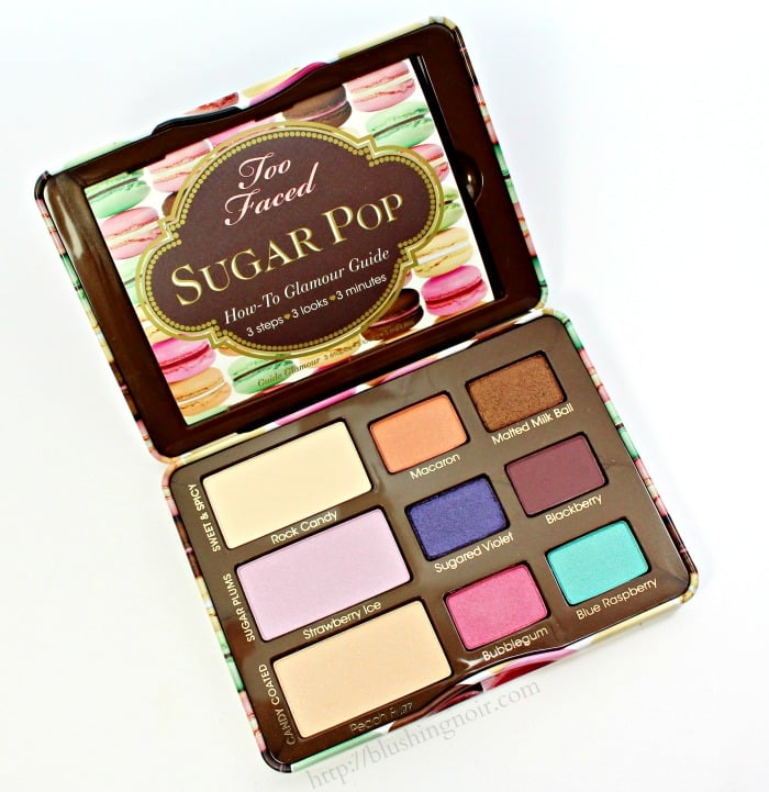 Too Faced Sugar Pop Palette Swatches Review Photos