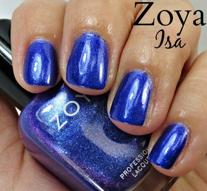 Zoya Isa Nail Polish Swatches