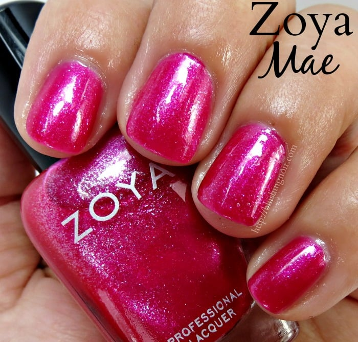 Zoya Mae Nail Polish Swatches