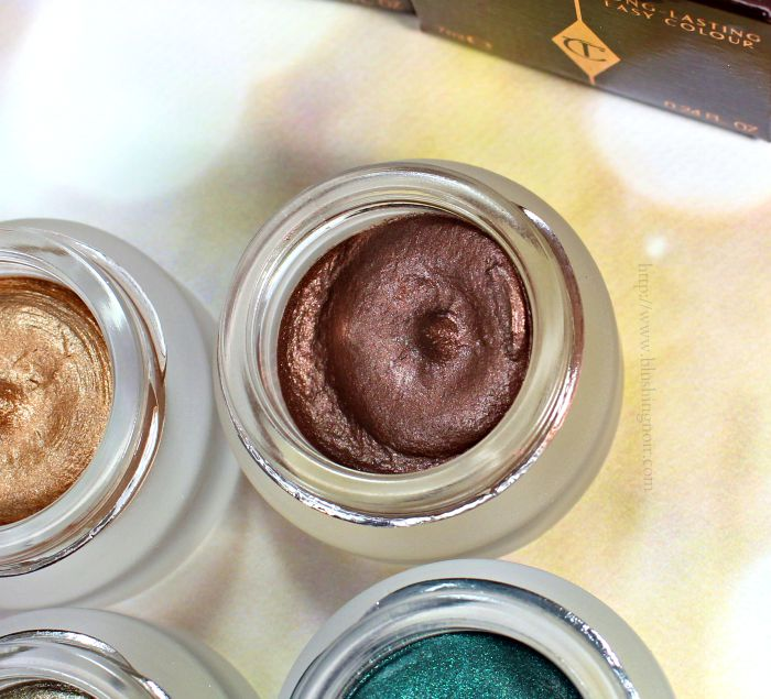 Charlotte Tilbury Mona Lisa Eyes to Mesmerise Cream Eyeshadow Swatches