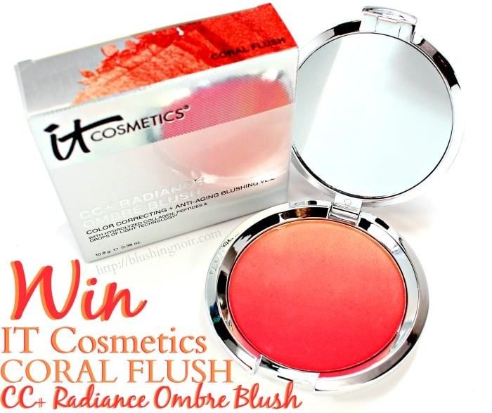 IT Cosmetics Coral Flush Ombre Blush Giveaway