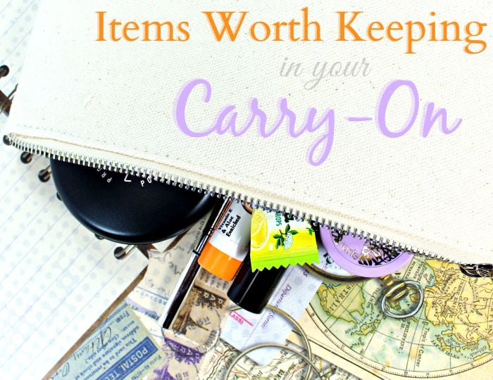 Items Worth Keeping in your Carry-On Luggage