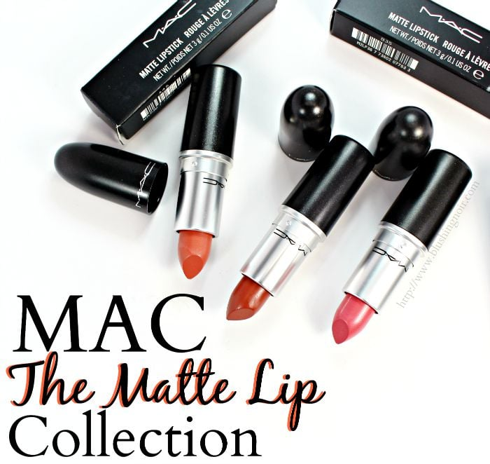 MAC The Matte Lip Collection Review Swatches