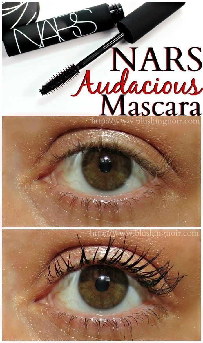 NARS Audacious Mascara Swatches