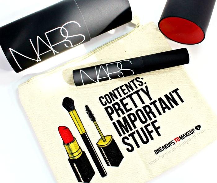 NARS Audacious Mascara swatches review