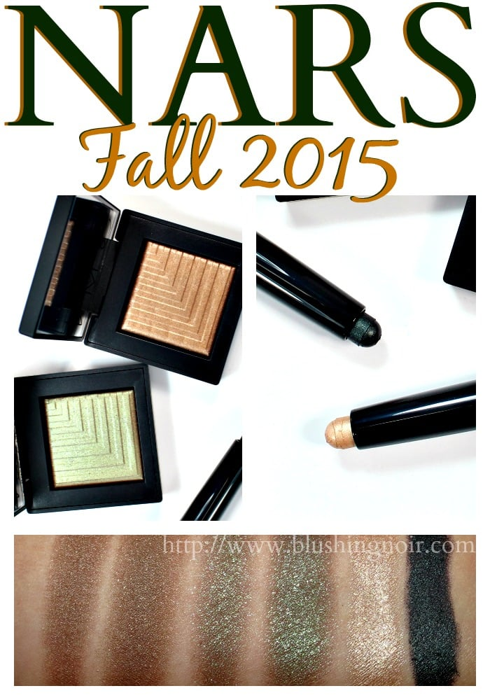 NARS Fall 2015 Makeup Photos Review Swatches