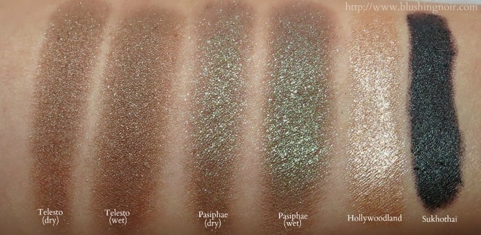 NARS Fall 2015 makeup swatches