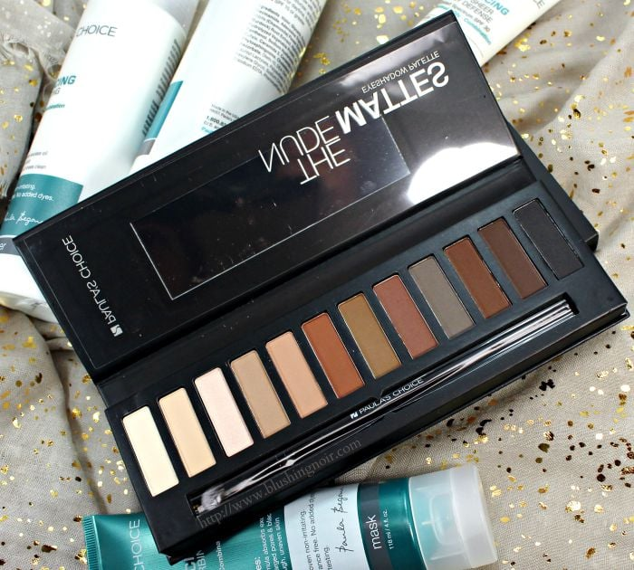 Paula's Choice The Nude Mattes Eye Shadow Palette Review