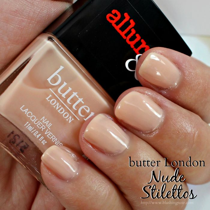 Butter London Nude Stilettos Nail Polish Swatches
