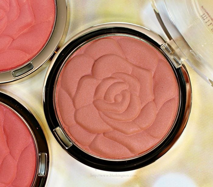 Milani 10 Awakening Rose Powder Blush Swatches