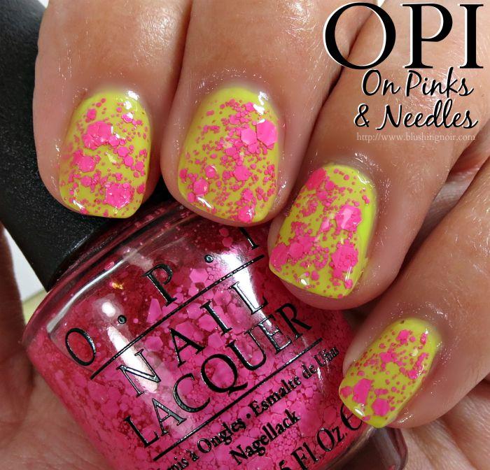 OPI On Pinks & Needles Nail Polish Swatches