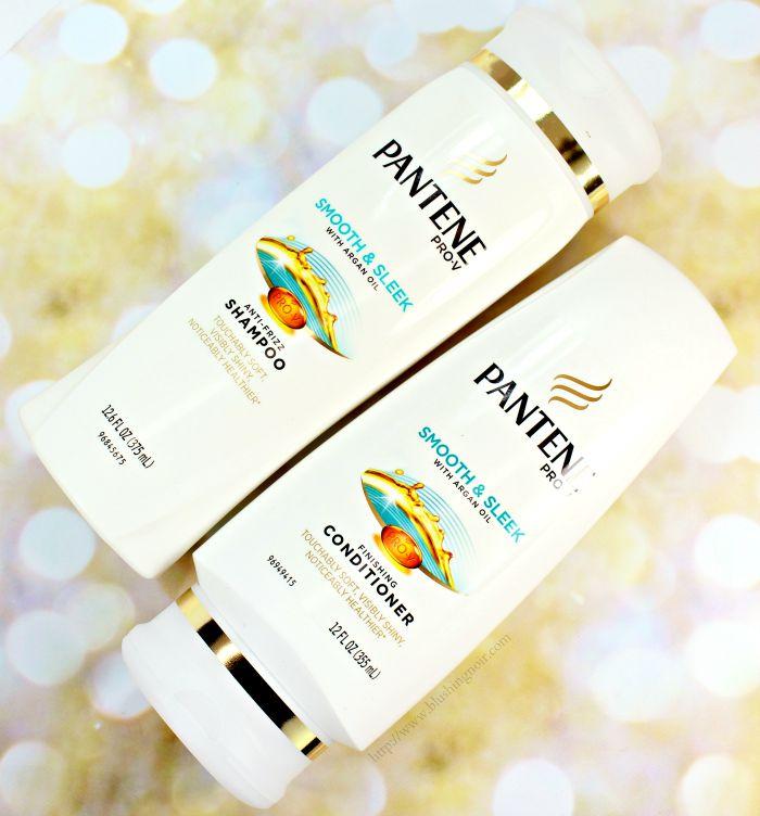 Pantene Smooth & Sleek Shampoo & Conditioner