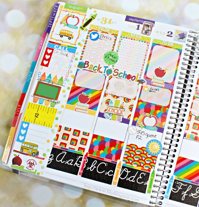 Back to School Planner 1