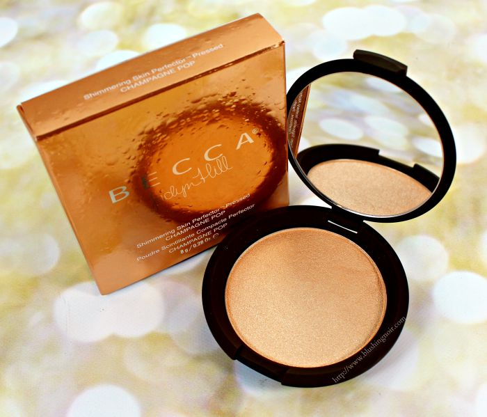 Becca x Jaclyn Hill Champagne Pop Shimmering Skin Perfector Swatches + Review // Makeup Wars