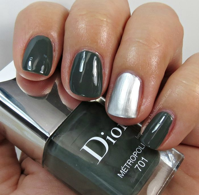 Dior metropolis miroir vernis swatches review for Vernis a ongle miroir