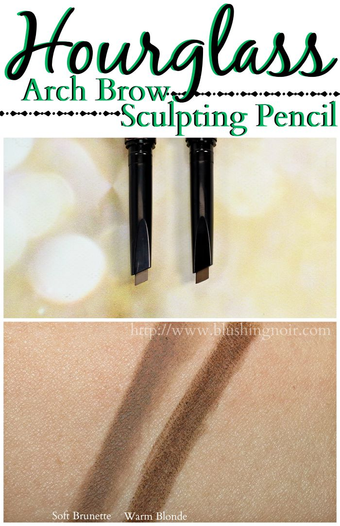 Hourglass Arch Brow Sculpting Pencil Swatches