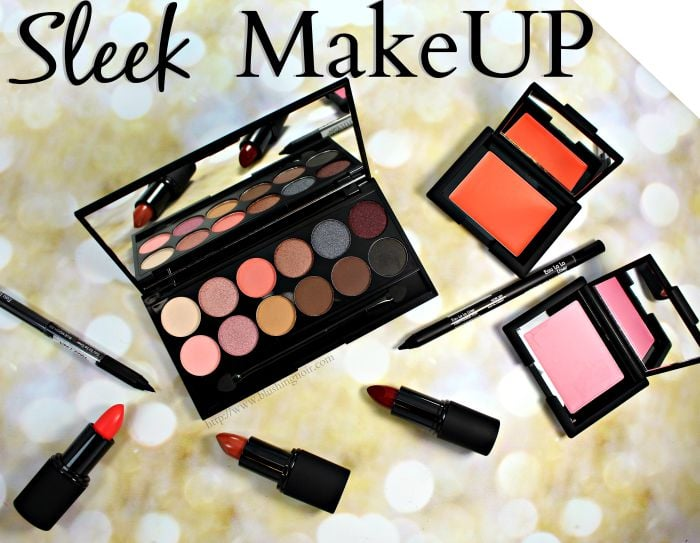 Sleek Makeup Review Swatches photos
