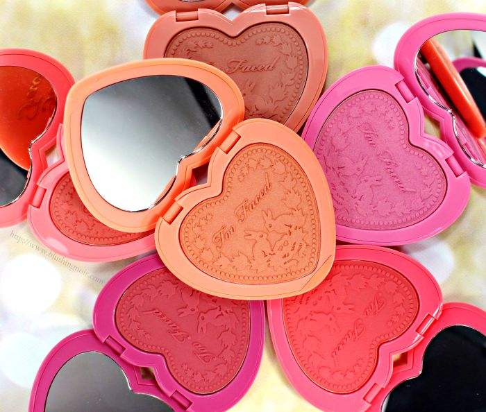 Too Faced Love Flush Blush Swatches Review