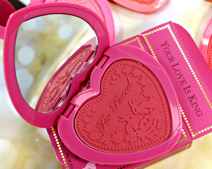 Too Faced Your Love Is King Blush Swatches