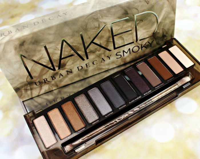 Urban Decay Naked Smoky Palette Review #NakedSmoky