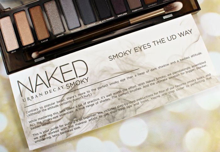 Urban Decay Smoky Eyes the UD way