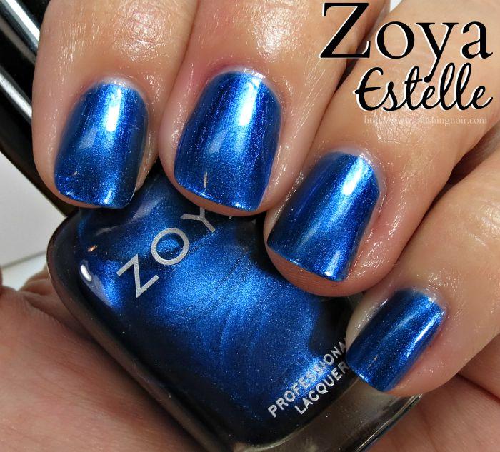 Zoya Estelle Nail Polish Swatches