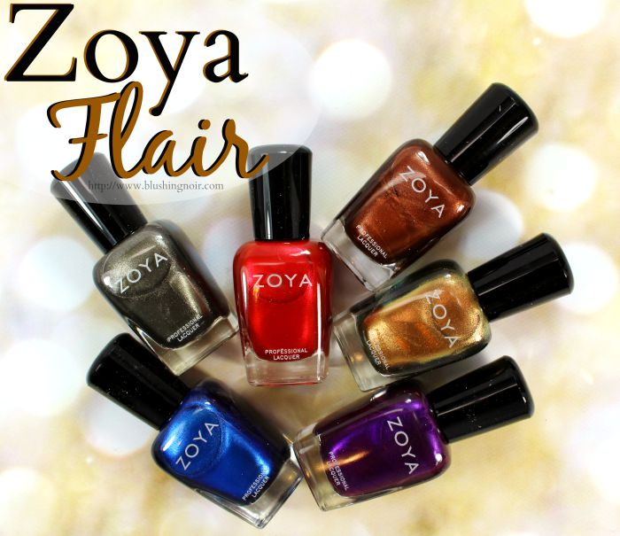 Zoya Flair Nail Polish Collection Swatches + Review