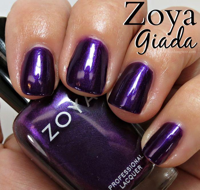 Zoya Giada Nail Polish Swatches