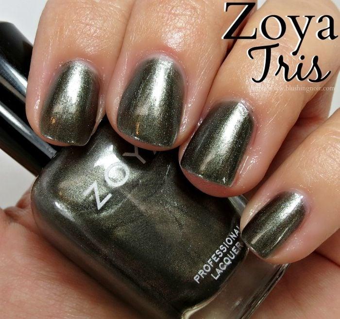 Zoya Tris Nail Polish Swatches
