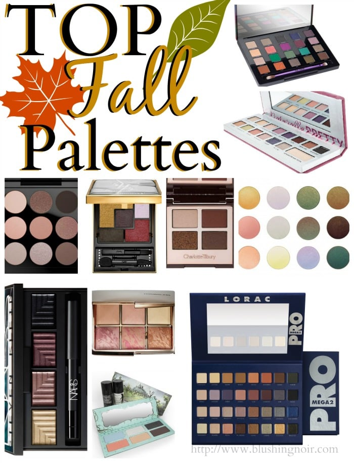 Top 10 Fall Luxury Makeup Palettes