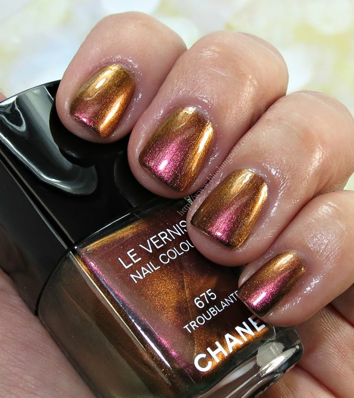 Chanel Troublante Nail Polish Swatches