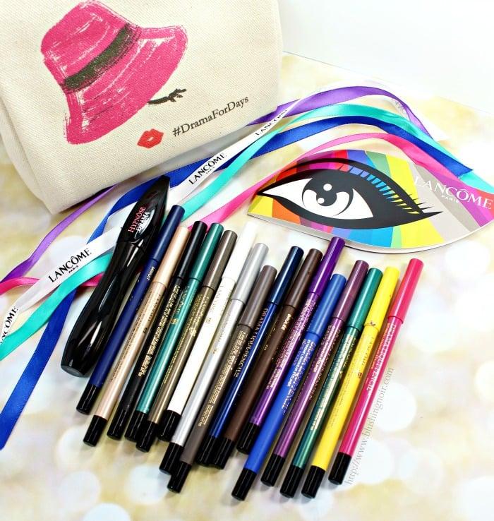 Lancome Mascara Eyeliner #Dramafordays