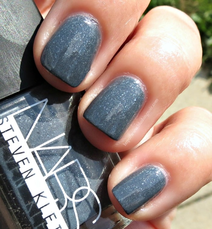 Black Nail Polish Swatch: NARS Steven Klein Collection Swatches
