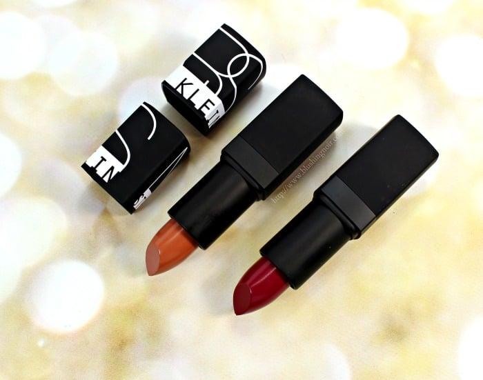NARS Steven Klein Lipstick Swatches