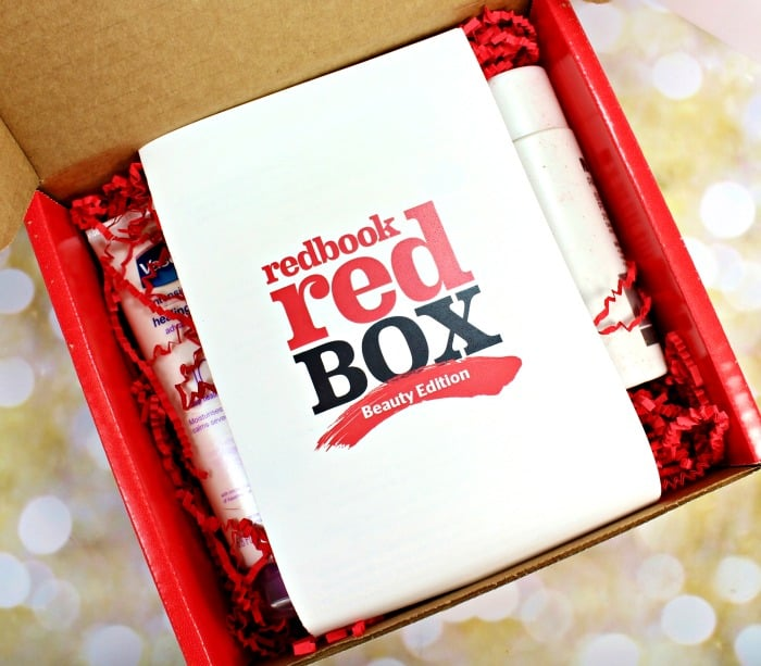 Redbook red box beauty edition 2015