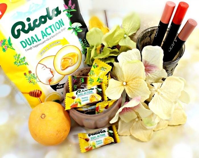 Ricola Dual Action Honey Lemon #swissherbs