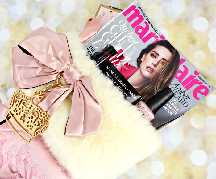 Marie Claire gift giving glam