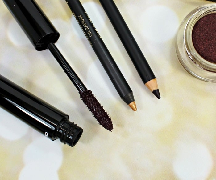 Chanel Holiday 2015 eye makeup swatches