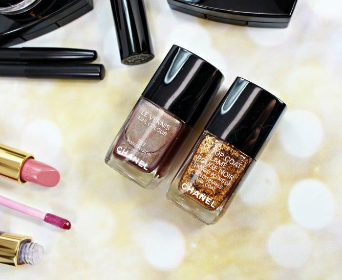 Chanel Holiday 2015 nail polish swatches