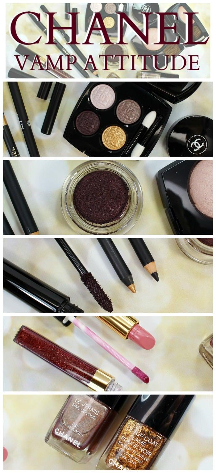 Chanel Vamp Attitude Holiday Makeup photos