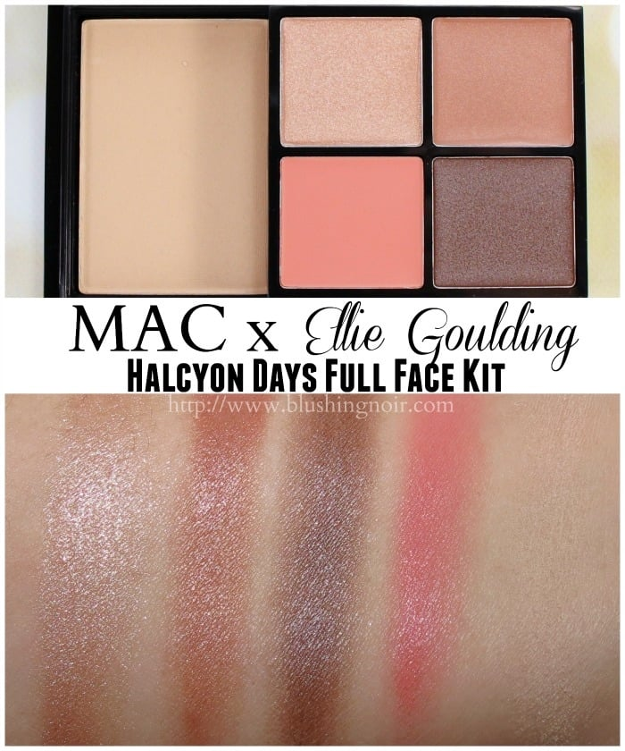 MAC Halcyon Days Full Face Kit Swatches Ellie Goulding