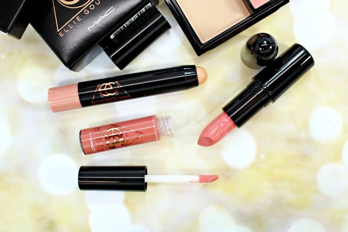 MAC Without Your Love Lipstick Swatches Ellie Goulding