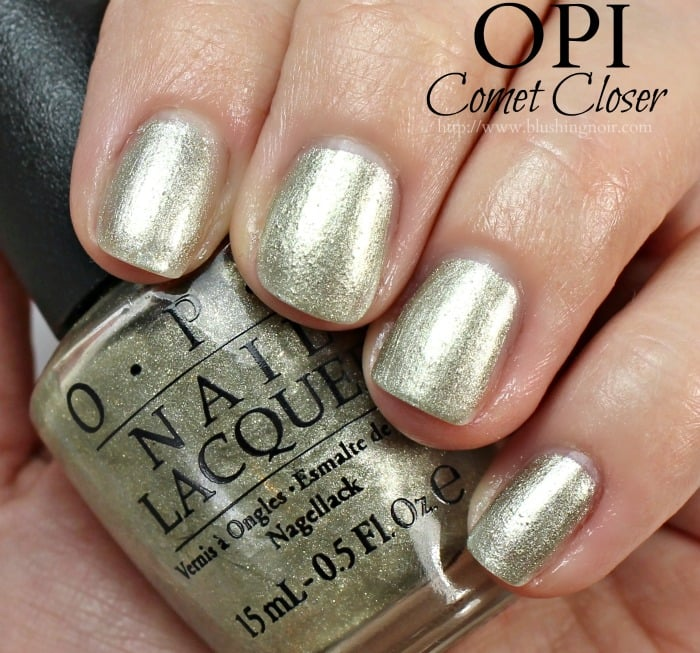 OPI Comet Closer Nail Polish Swatches